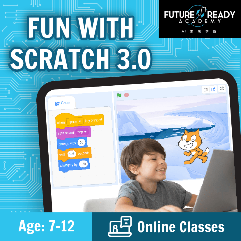 S.T.E.A.M Holiday Camp: Online Fun With Scratch 3.0 @ $78 (U.P $118)