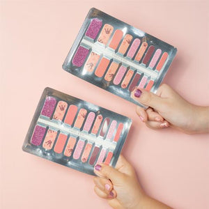 Two Peas In A Pod Sisters Nail Wrap Bundle Set: $̶2̶9̶.̶8̶0̶ $24.90 (Includes Delivery) - BYKidO