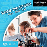 S.T.E.A.M PSLE Marking Week Camp: Race The Storm - Build Code & Play @ $198 (U.P $248)