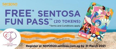 Sentosa: Free Sentosa FunPass with 20 Tokens