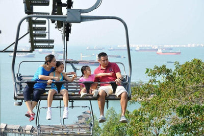 Sentosa Skyline Luge and Skyride Tickets at Sentosa