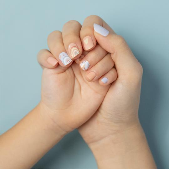 Mother & Daughter Nail Wrap Bundle Set: $̶2̶9̶.̶8̶0̶ $24.90 (Includes Delivery) - BYKidO