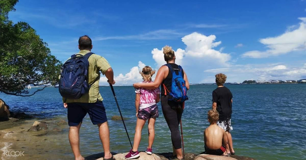 Ubin Island Bike or Walking Tour with Return Ferry Transfer