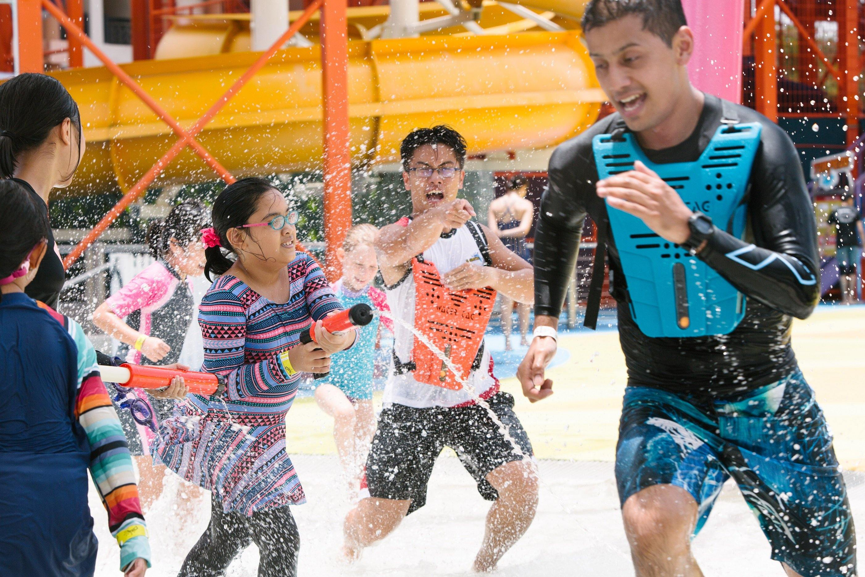 Wild Wild Wet: 15% Off Kids Birthday Party @ Neptune Cove