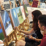 3-Hour Art Jamming Session for 2 with Complimentary Drinks @ $47 (U.P. $110)
