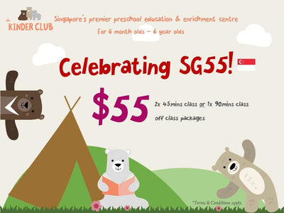 De Kinder Club: $55 for 2 x 45 Mins or 1 x 90 Mins Classe(s)