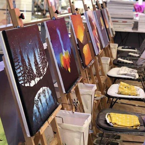 3-Hour Art Jamming Session With Complimentary Drink @ $26 (U.P. $55)