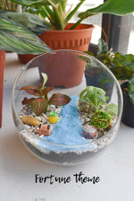 Fittonia Terrarium DIY Kit @ $37 (Delivery Included) - BYKidO