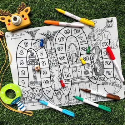 Reusable Silicone Colouring Mat From Just $20.90 Each!