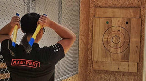 Axe-Throwing Experience at The Axe Factor in Singapore