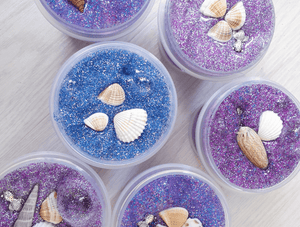 Jolly Confetti: 60mins Slime and Clay Art Making Workshop for 1 Child @ $39 (U.P $49)