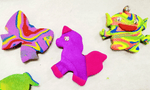 Jolly Confetti: Slime and Clay Art Making Group Party for 5 @ $189 (U.P $199) - BYKidO