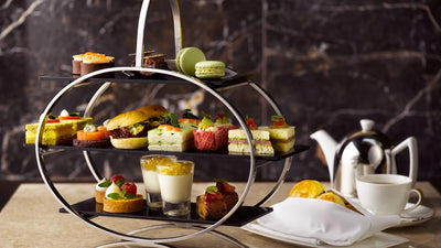 The Courtyard Afternoon Tea at The Fullerton Hotel Singapore
