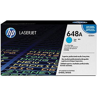 Hewlett Packard OEM Cyan Toner Cartridge - CE261A