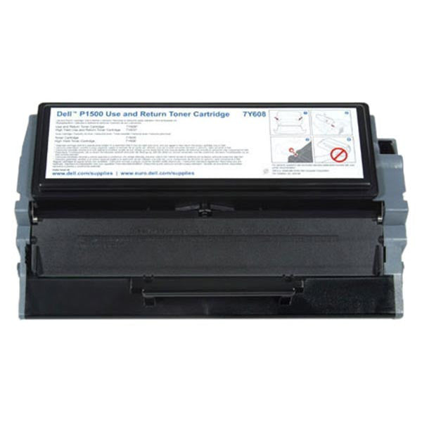 Dell Black OEM Laser Toner Cartridge 7Y610
