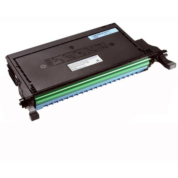Dell Cyan High Yield OEM Toner Cartridge P587K