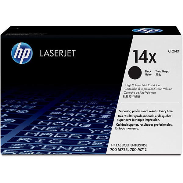 Hewlett Packard OEM Black Toner Cartridge - CF214X