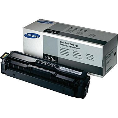 Samsung 504 OEM Black Toner Cartridge ( KLT-C504S )