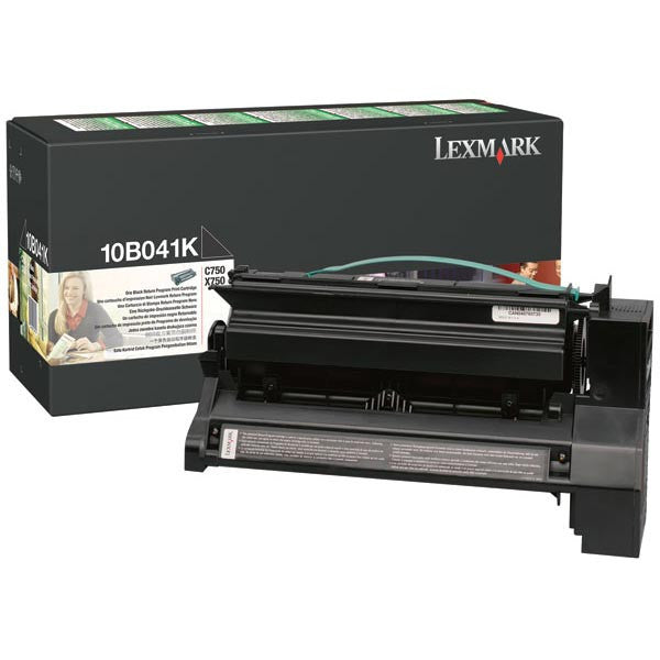 Lexmark OEM Black Toner Cartridge - 10B041K