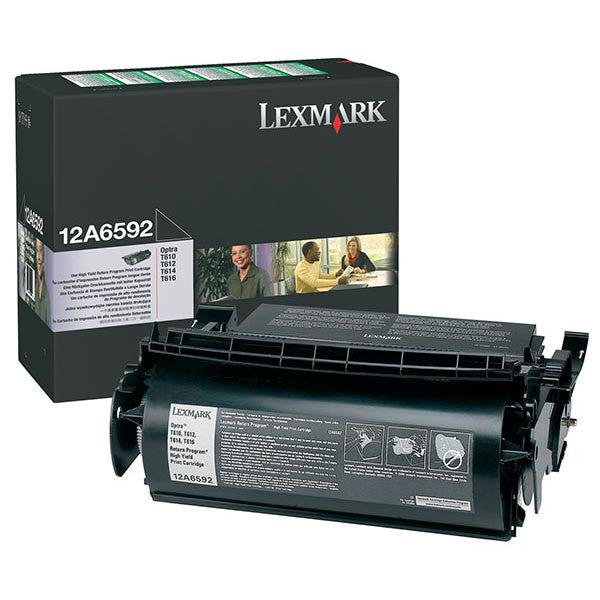 Lexmark Laser Toner Cartridge 12A6592