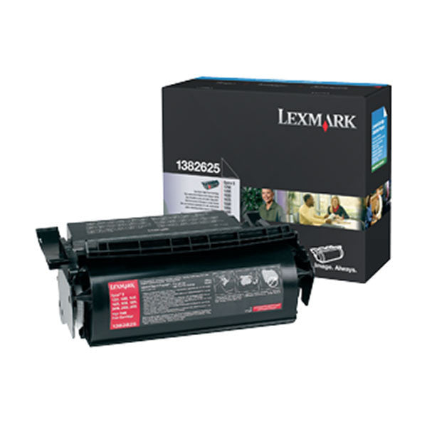 Lexmark OEM Black Toner Cartridge - 1382625