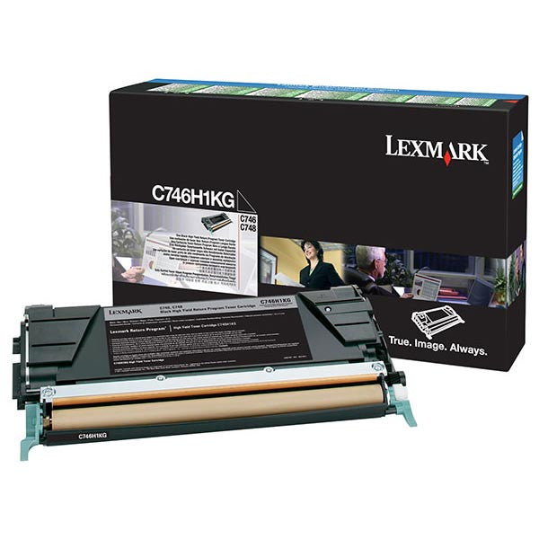 Lexmark Laser Toner Cartridge Black  C746H1KG