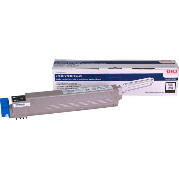 Okidata Black OEM Laser Toner Cartridge 42918984