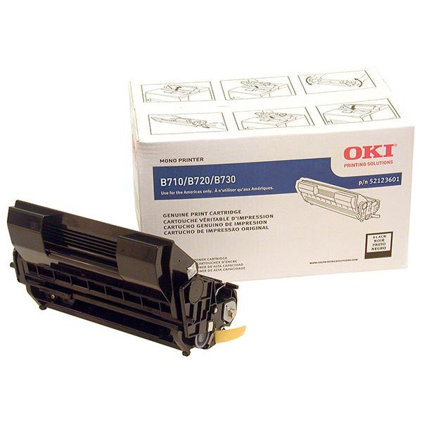 Okidata Laser Toner Cartridge, 52123601