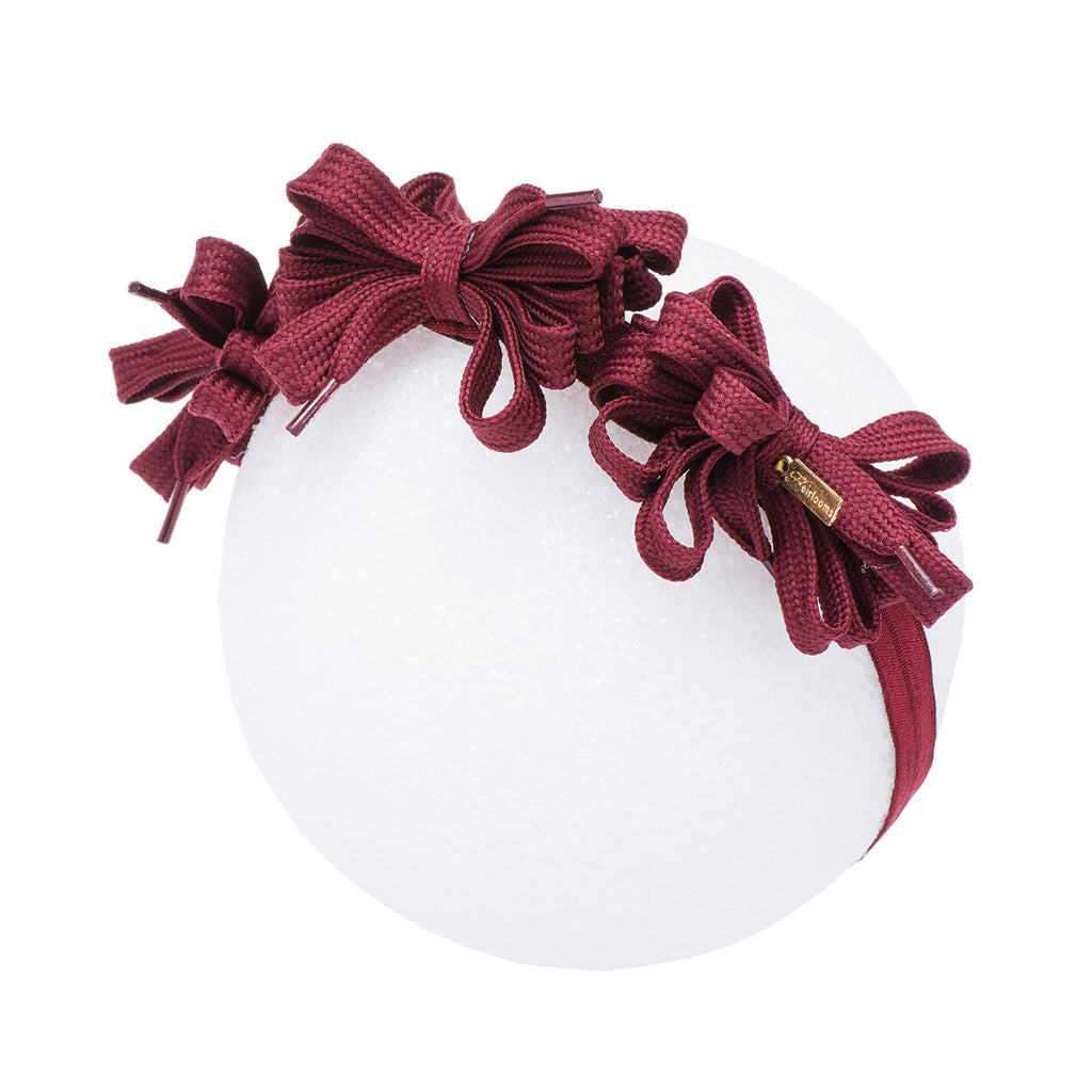 Shoelace Tie Bow Mini