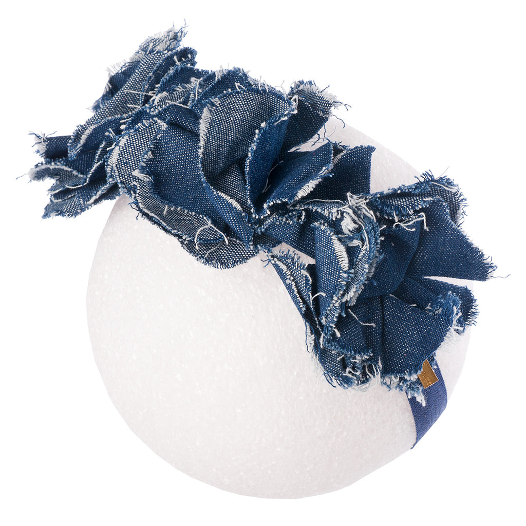 Frayed Denim Florets Mini