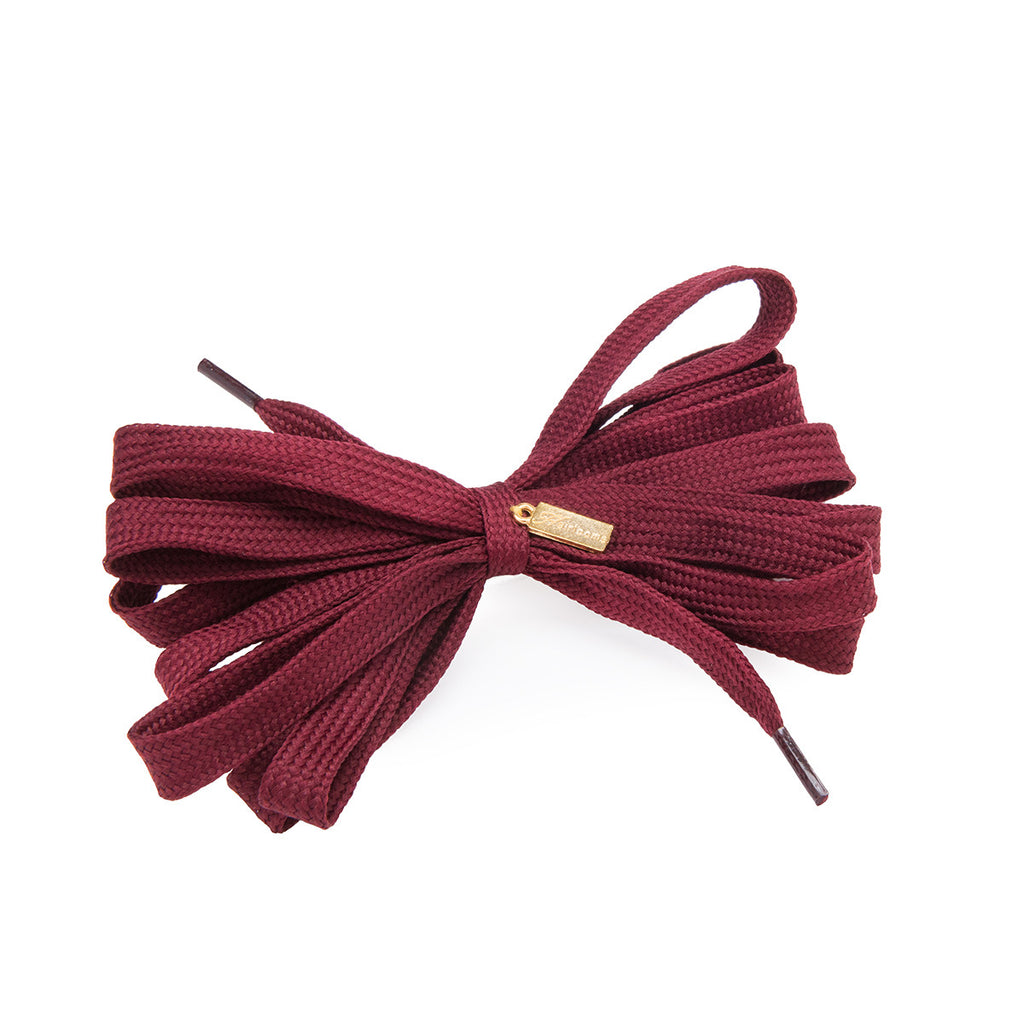 Shoelace Tie Bow Hairpin