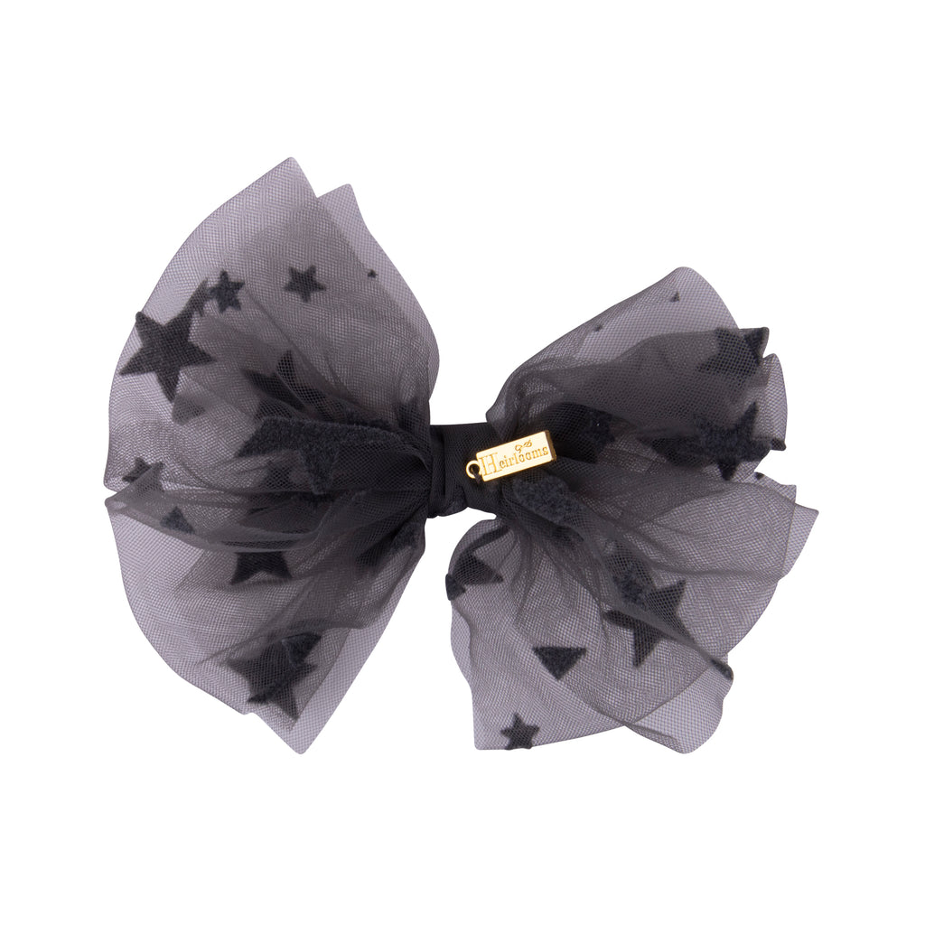Star Tulle Small Bow