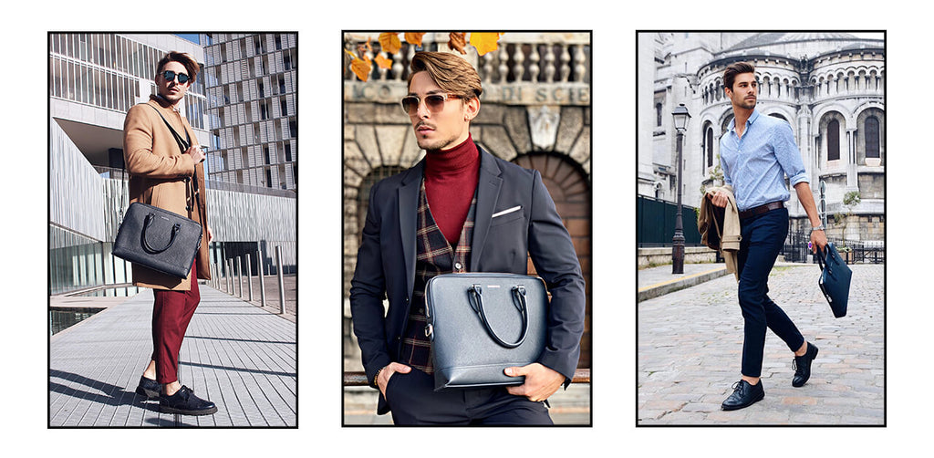【Briefcases in Style】Inspired by 10 Best-dressed European Men
