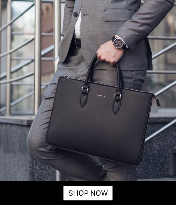Maverick & Co. LIMITLESS Waterproof vegan leather Briefcase