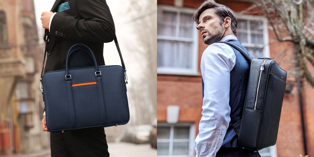 Maverick & Co. briefcase & backpack