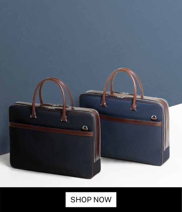 Maverick & Co. VIBRANT DOUBLE-ZIP BRIEFCASE