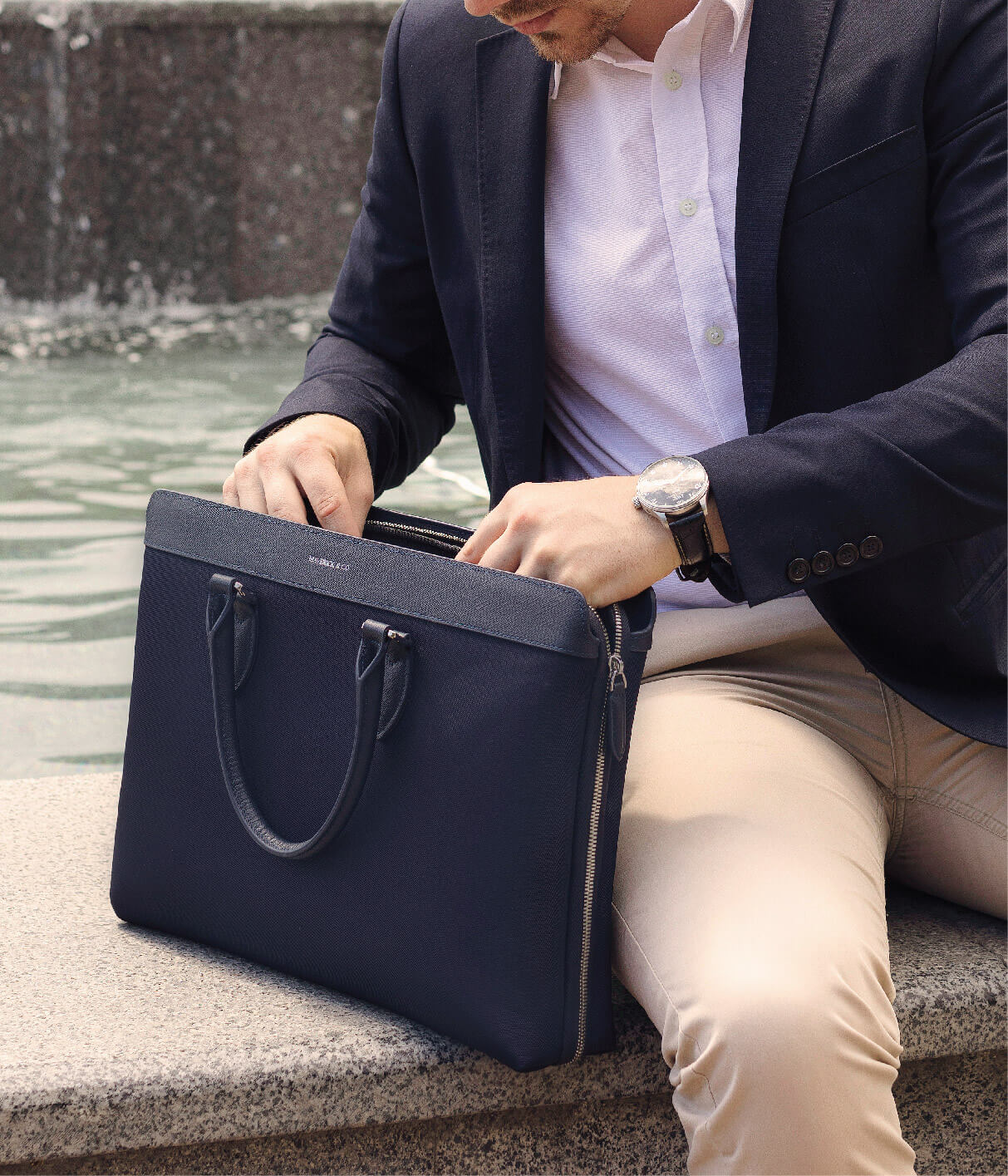 Maverick & Co. ALPHA Waterproof Briefcase 防水公事包