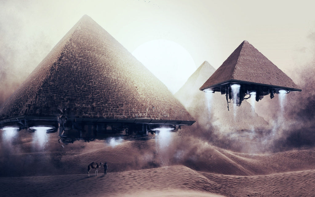 The mysterious origins of the pyramids food