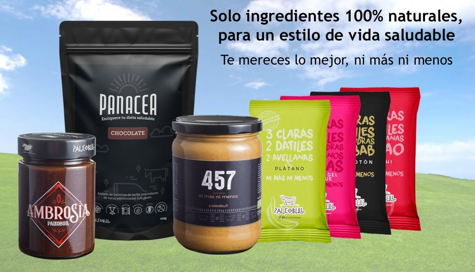 Ingredientes 100% naturales