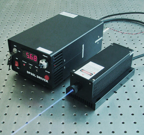 MBL-F-473 Blue DPSS Laser >200 mW  Readylasers.com Ready Lasers