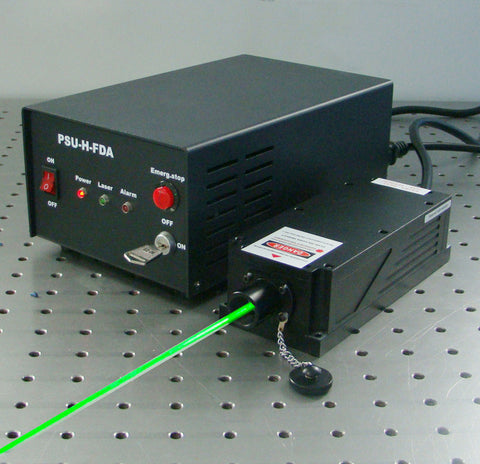 MSL-FN-532 Green DPSS Single Frequency Laser Readylasers.com Ready Lasers