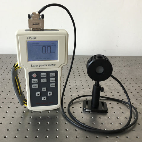Laser Power Meter with Thermopile Sensor