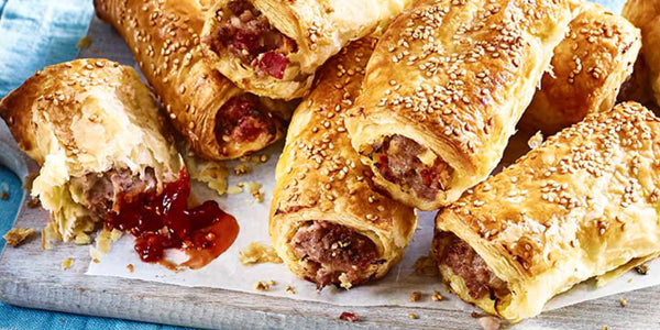 Halal Sausage Rolls (Lamb, Chicken and Beef)