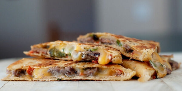 Halal Steak and Jalapenos Quesadillas