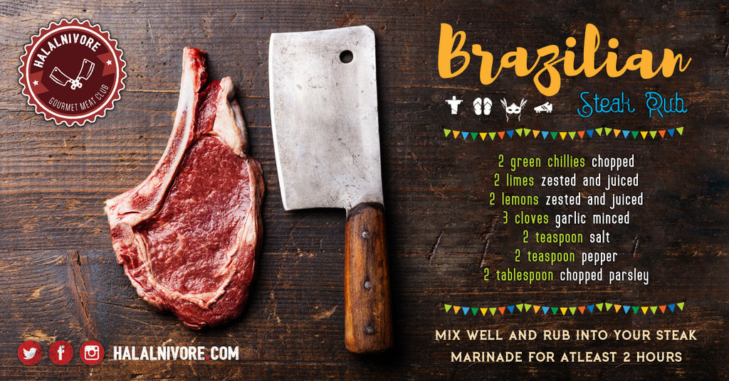 Brazilian Style Halal Steak Rub