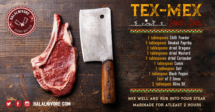 Tex Mex Style Steak Rub
