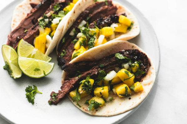 Jamaican Jerk Halal Steak Tacos