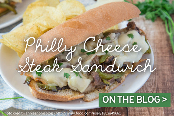 Halal Steak Philly Cheese Sandwich