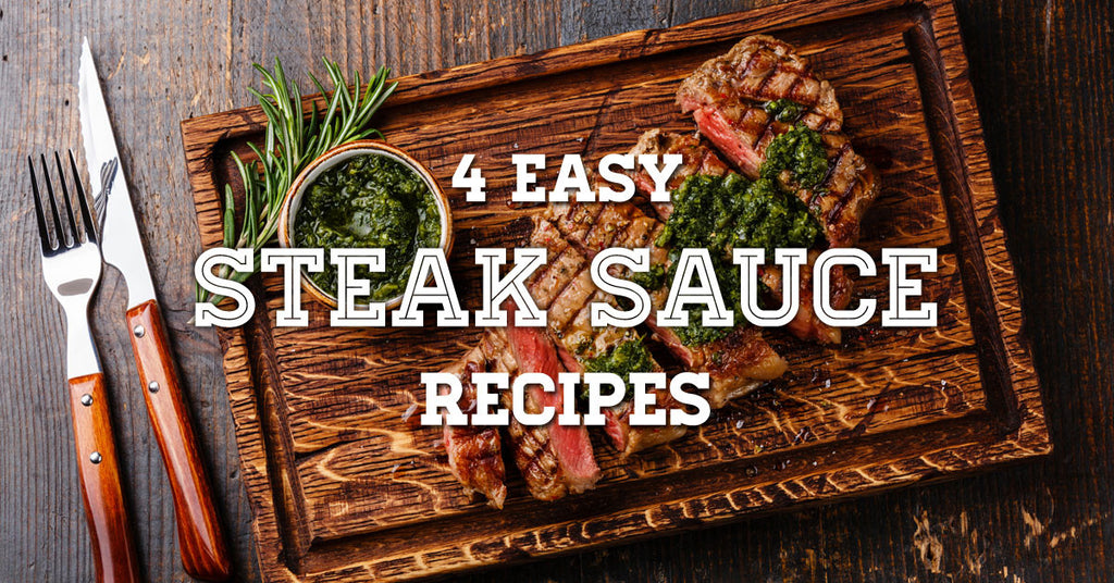 4 Easy Sauces for your Halal Gourmet Steaks