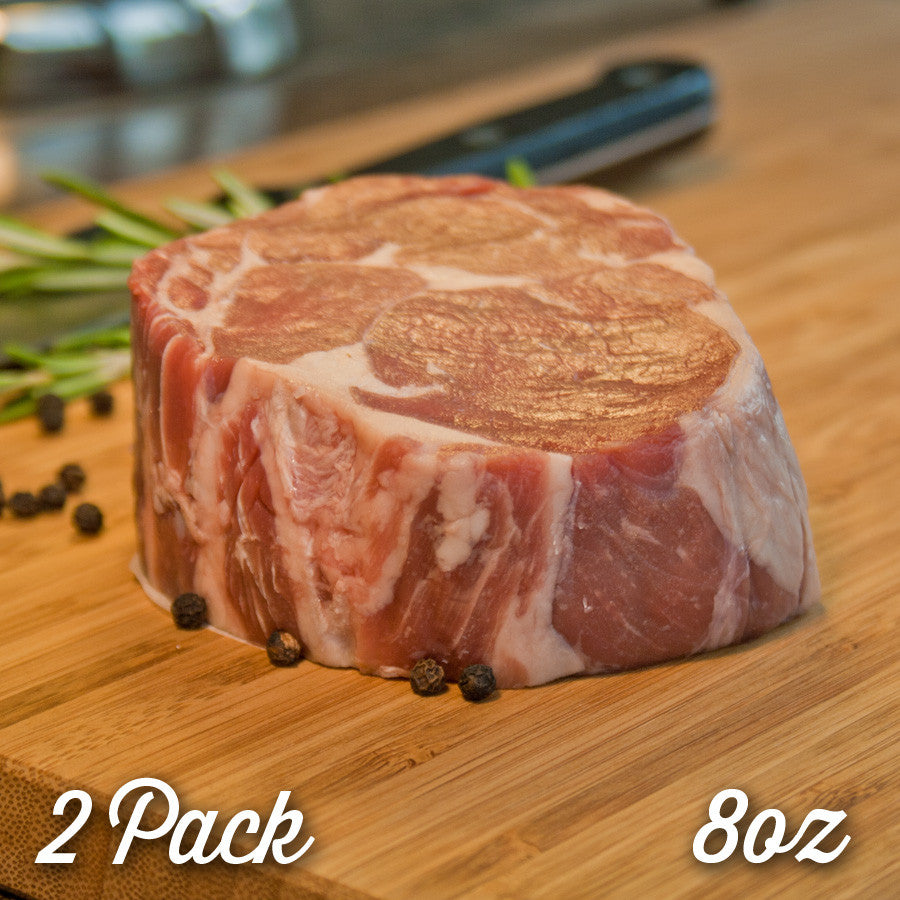 Halal Brazilian Rib Eye Steak (8 oz) - 2 Pack